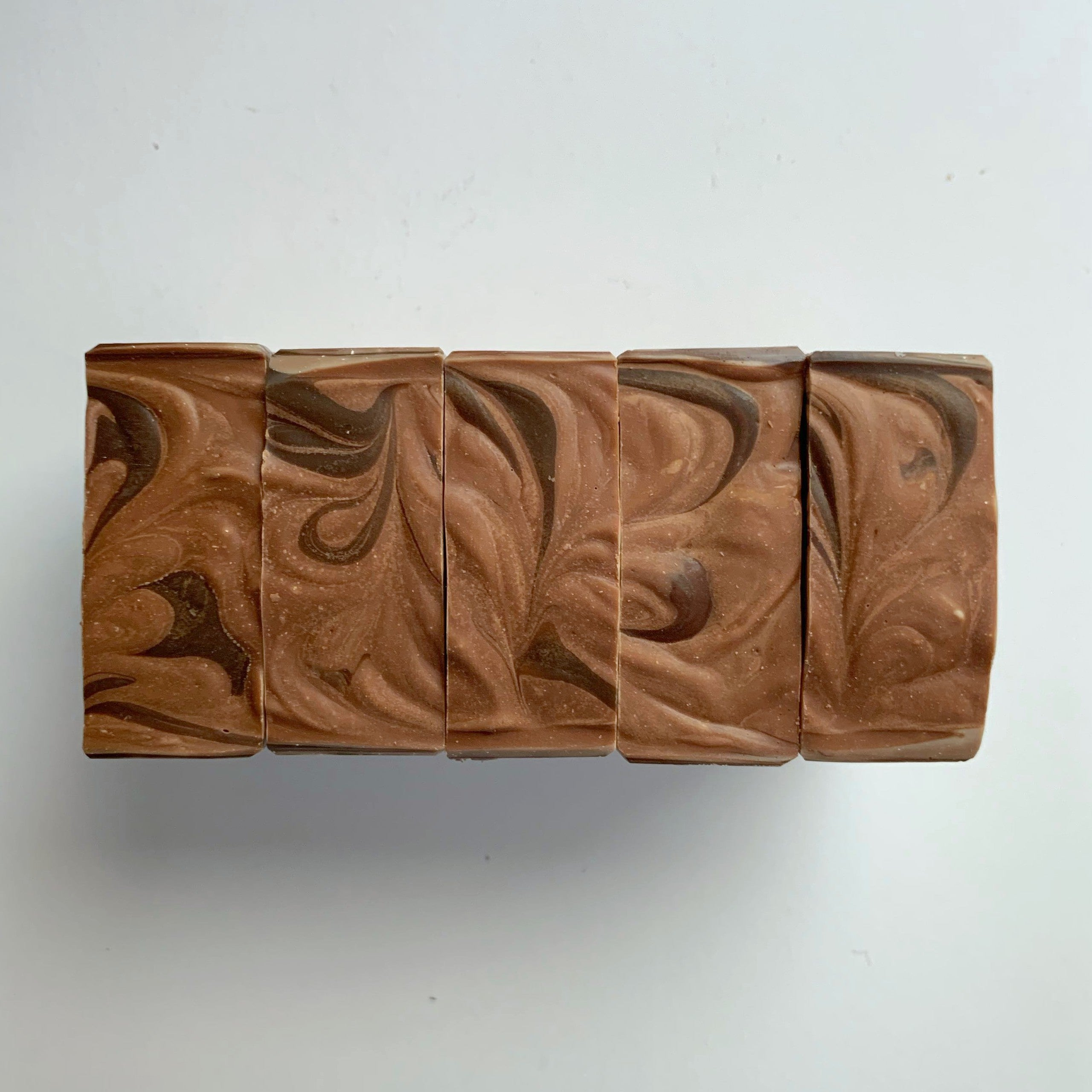 Salted Caramel Cold Process Soap