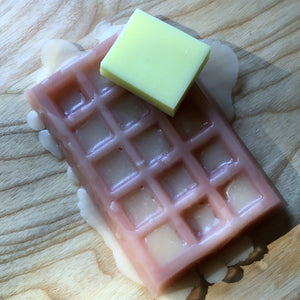 Waffle Soap Butter and Syrup - Sailor Mouth Soaps