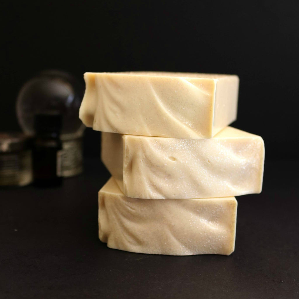pure white witchy soap with crystal ball modern romantic gothic