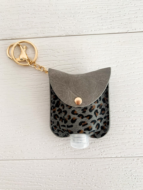Cheetah Sanitizer Holder (3 Colors)