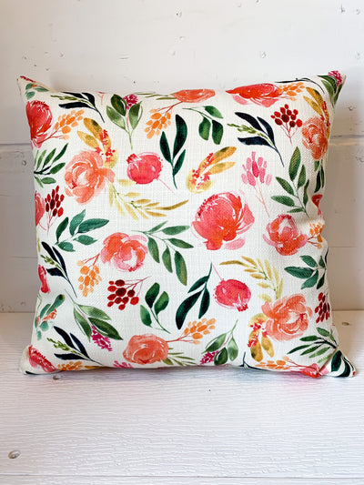 Claire Floral Pillow