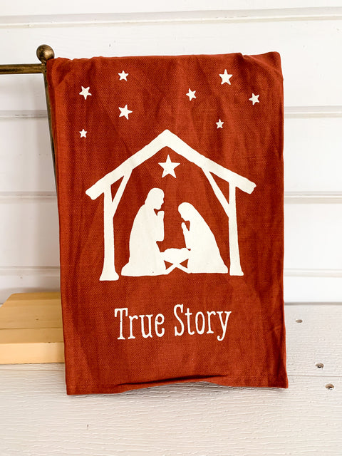 True Story Dish Towel