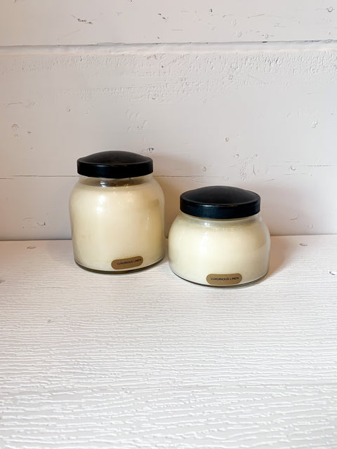 Luxurious Linen Candle