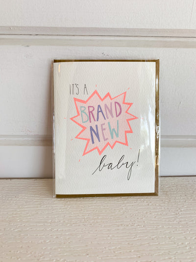 Brand New Baby Card
