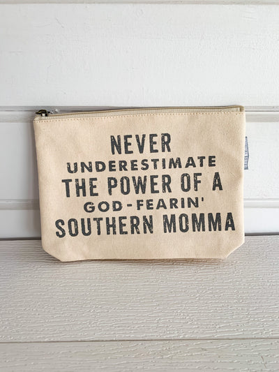 Southern Momma Zipper Bag