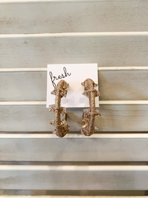 Ari Nude Earrings