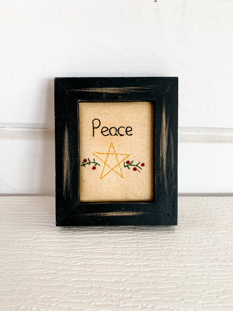 Stitchery Ornament (Multiple Styles)