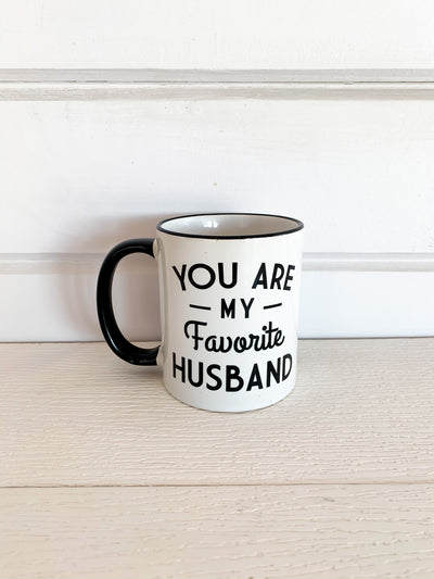 Favorite Husband Mug