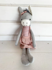 Donkey Stuffed Animal (2 Colors)