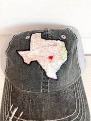 Texas Hat with Button