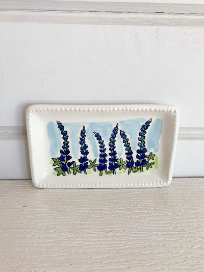 Bluebonnets Trinket Tray