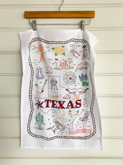 Texas Symbol Kitchen Towel