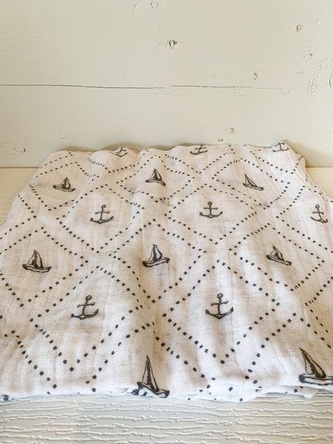 Anchors Aweigh Swaddle