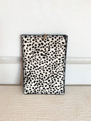 Cheetah Card Holder Keychain (2 Colors)