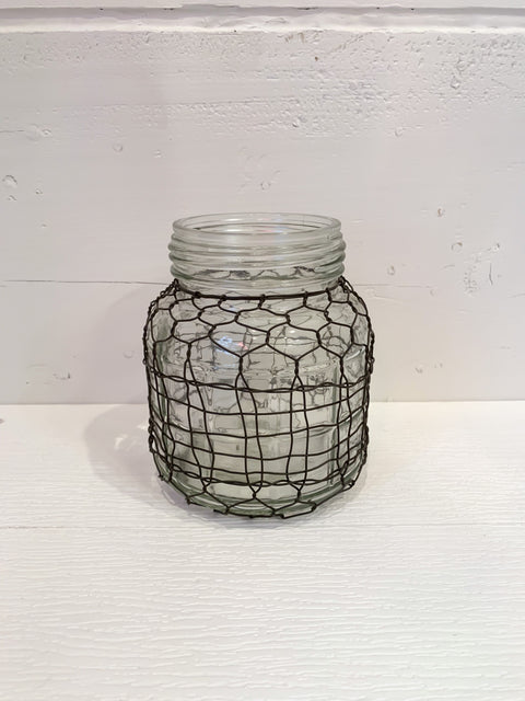 Medium Wire Covered Jar