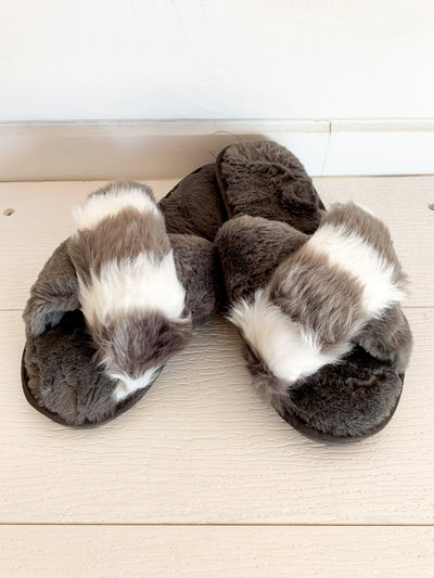 Color Block Slippers (2 Colors)