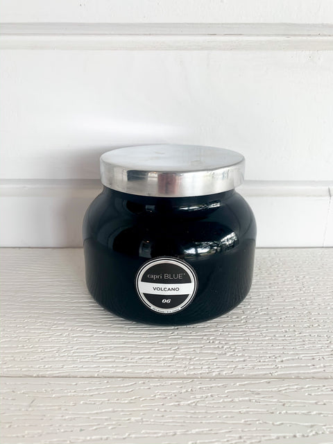 Volcano Candle in Signature Jar (Multiple Colors)