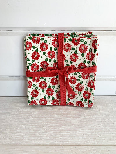Christmas Cloth Napkins Set
