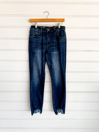 Reese High Rise Straight Leg Jeans - Begin