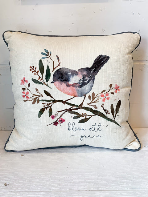 Bloom with Grace Pillow