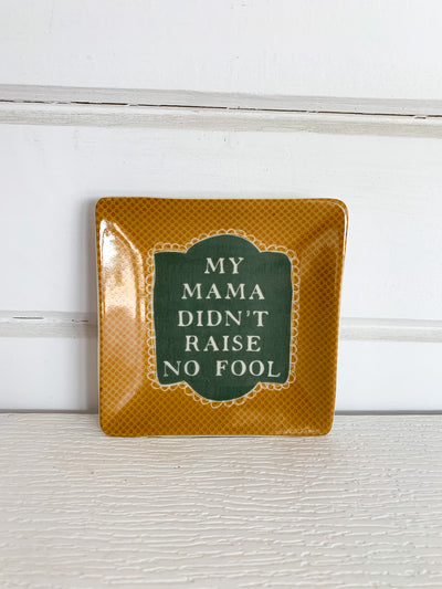 Trinket Dish with Saying (Multiple Styles)