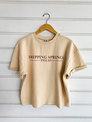 Dripping Springs Throwback Tee