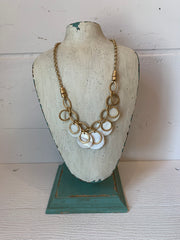 Melanie Disc Necklace