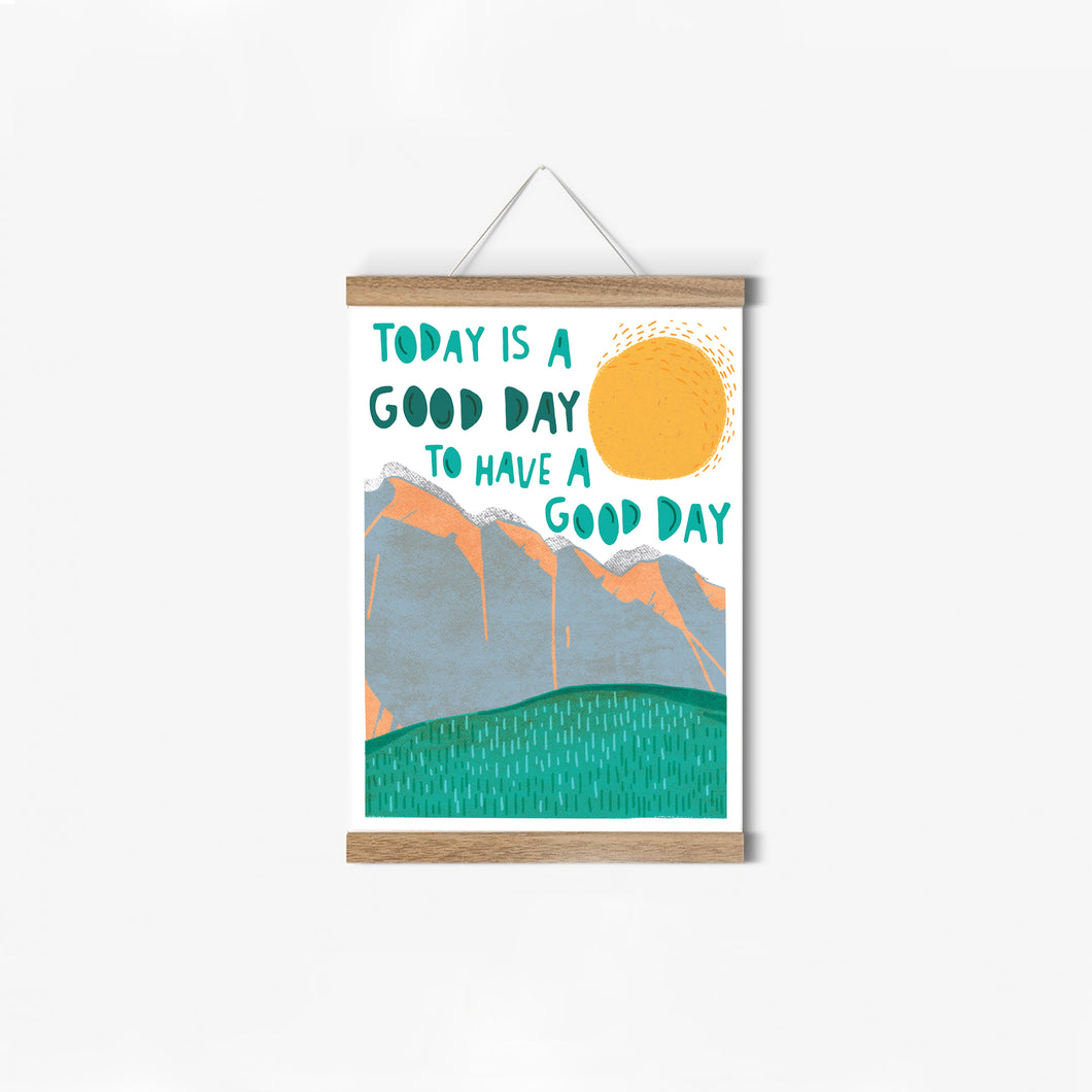 Poster »good day«
