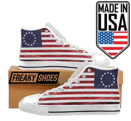 Men's Betsy Ross Flag Shoes Custom Freaky Shoes Sneakers Breathable Running Shoes, betsy ross nike, betsy ross ebay, betsy ross nikes, betsy ross sneakers, betsy ross custom flag shoes, betsy ross kicks, betsy ross limited edition shoes, betsy ross custom flag sneakers, betsy ross flag sneaks, betsy shoes, betsy sneakers, betsy ross high tops, betsy ross running shoes, betsy ross running sneakers, betsy ross casual shoes,