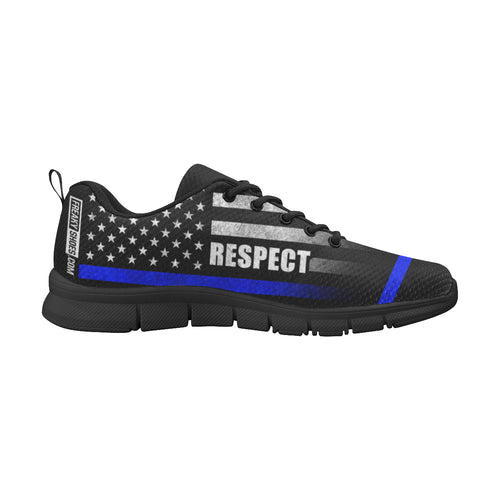 Thin Blue Line Respect Women's Breathable Running Shoes