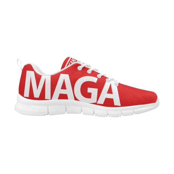 Maga Make America Great Again President Donald Trump Men's Breathable Running Shoes/Large