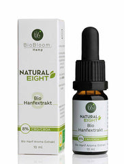 Bio CBD Hanfextrakt Natural eight, 8% CBD/CBDA - 10ml - Supergsund