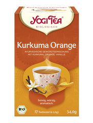 Bio Yogi Tea: Kurkuma Orange - 17x2g