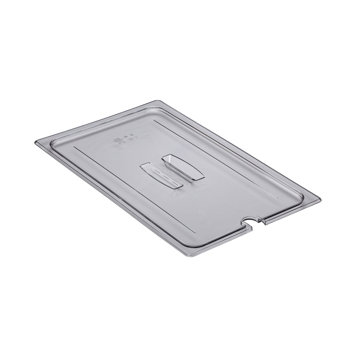 Food Pan Cover Full Notched Cambro