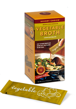 Savory Choice Vegetable Broth 12ct