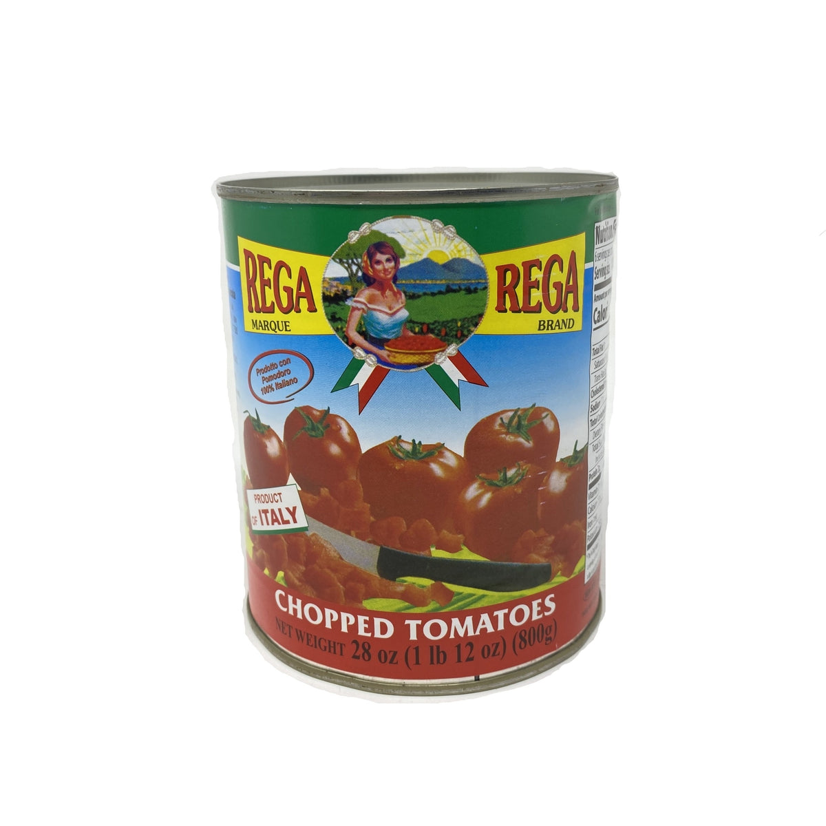 Tomato Rega Chopped 28oz