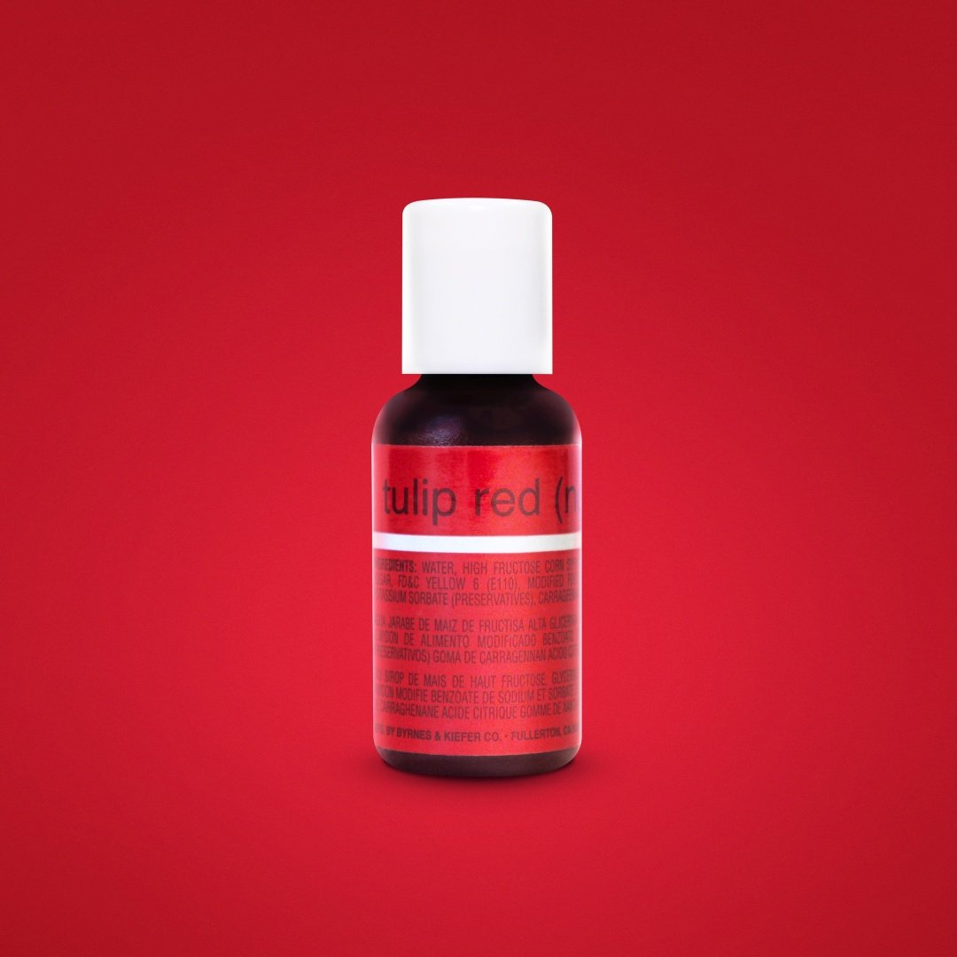 Color Chefmaster Gel Tulip Red 0.70oz