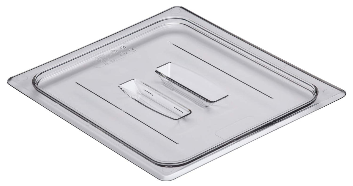 Food Pan Cover 1/2 w/Handle Cambro