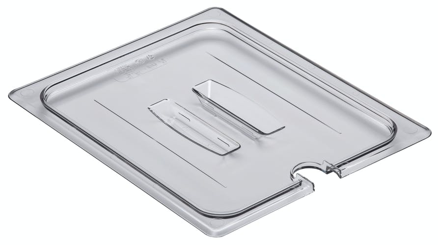 Food Pan Cover 1/2 Notched Cambro