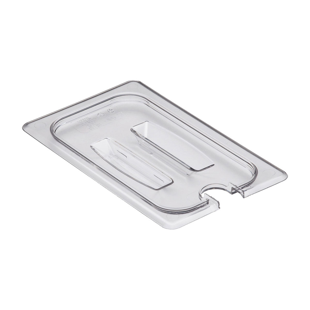 Food Pan Cover 1/4 Notched Cambro