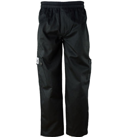 Chef Pants Cargo Black, S