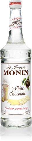 Syrup Monin White Chocolate 750ml