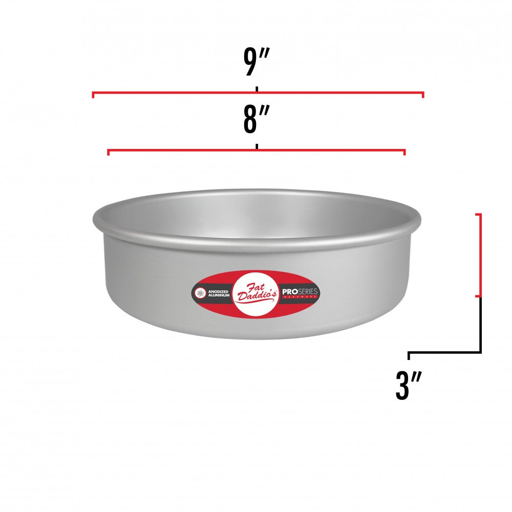 Cake Pan 8x3 Removable Bottom