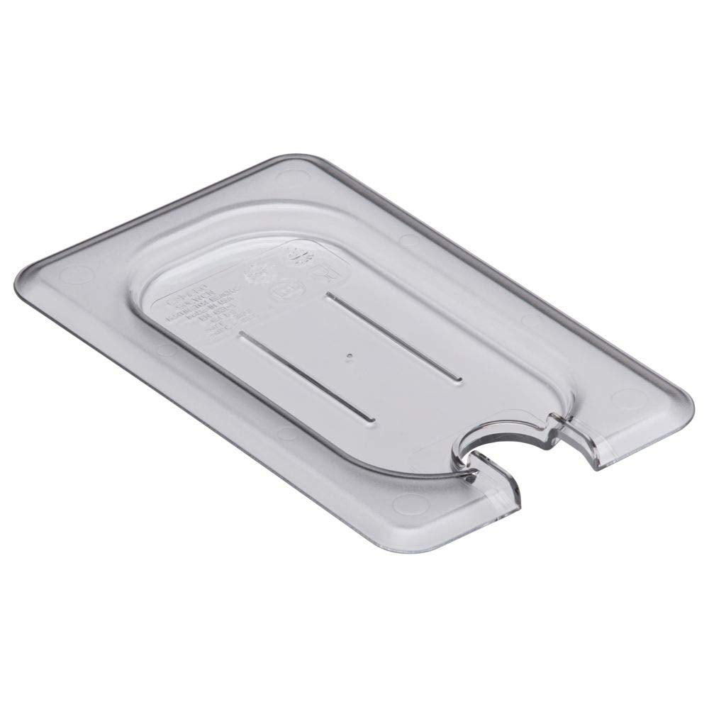 Food Pan Cover 1/9 Flat Notched Cambro