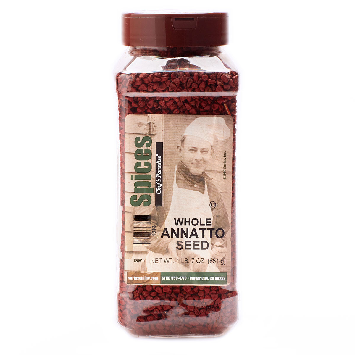 Annatto Seed Whole 23oz