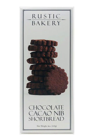 Cookie Rustic Bakery Chocolate Cacao Nibs 4oz