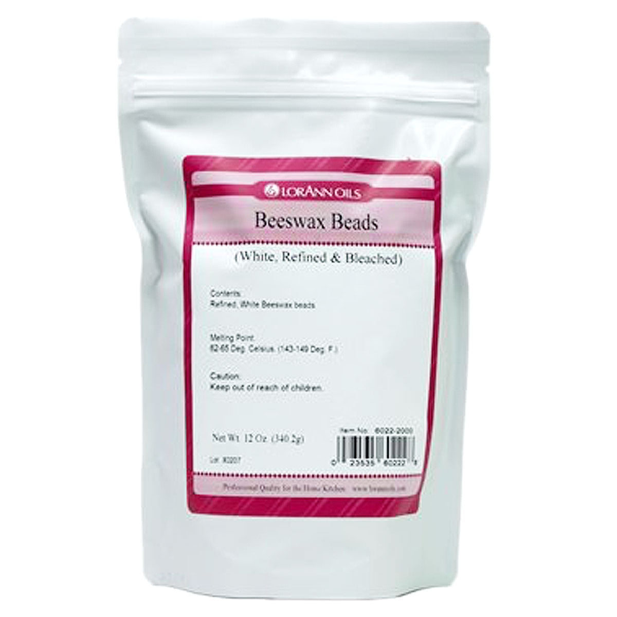 Lorann Beeswax Beads 12oz