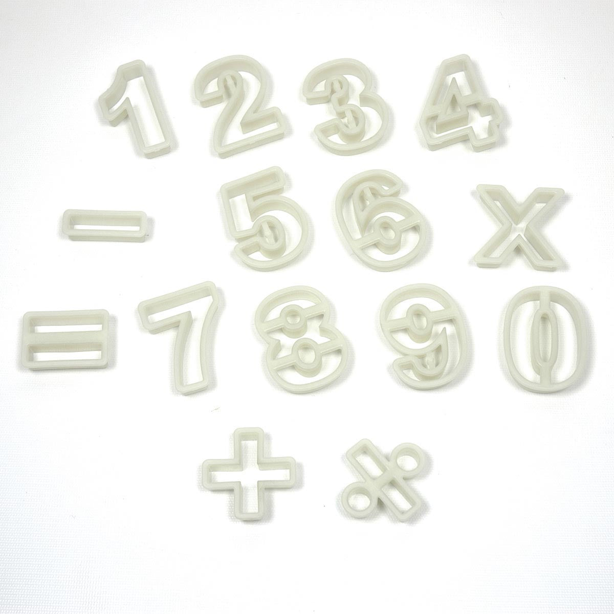 CUTTER SET NUMBERS