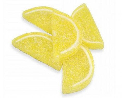 Candy Lemon Jelly Slices 5oz