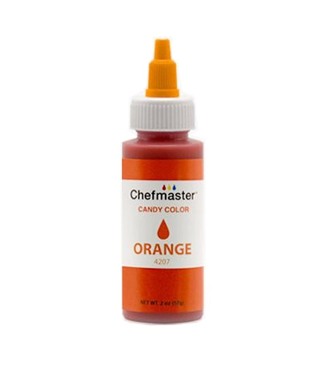 Color Chefmaster Candy Orange 2oz